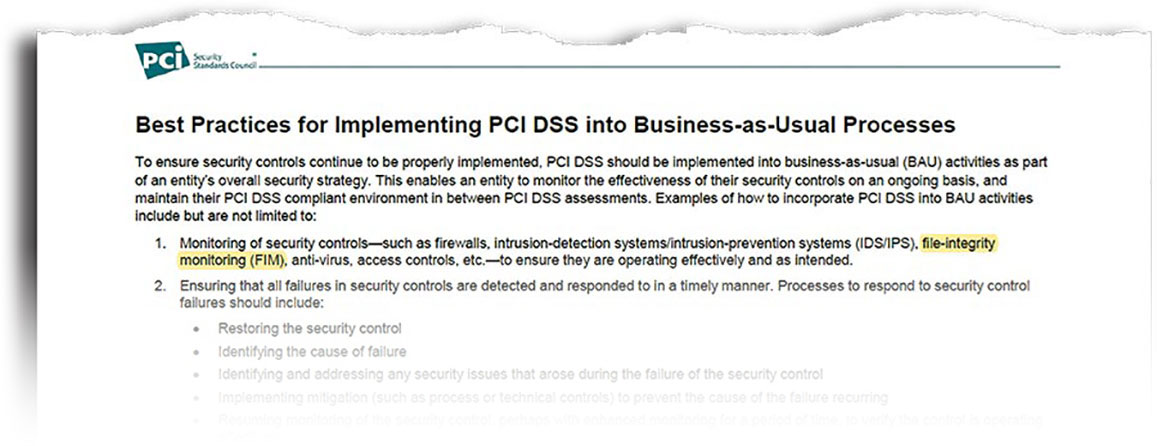 PCI Best Practices