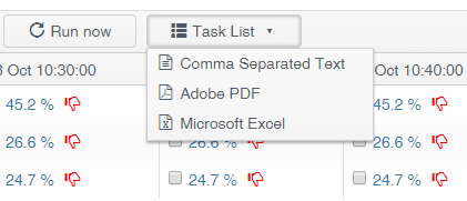 All New Compliance Report Task List