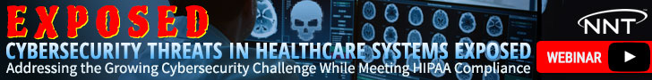 Cybersecurity Threats in Healthcare Exposed