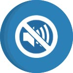 no noise icon