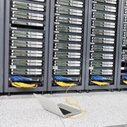Server room racks